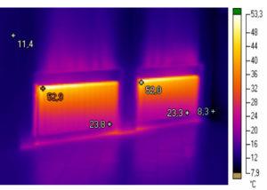тепловізійне обстеження опалювального обладнання
