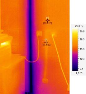 фото тепловізійної діагностики електропроводки