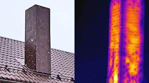 Обстеження опалювального обладнання вентиляційна труба