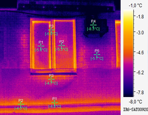 тепловізор для обстеження будівлі