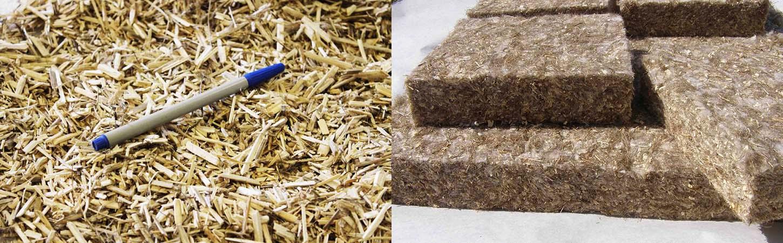 Как повысить энергоэффективность зданий и сооружений при помощи костры льна