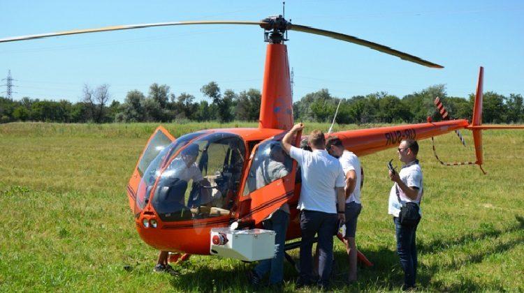 фото вертолет для тепловизионного обследования ЛЭП