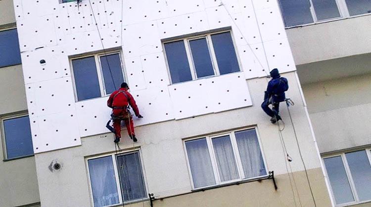 фото утепление фасадов зданий