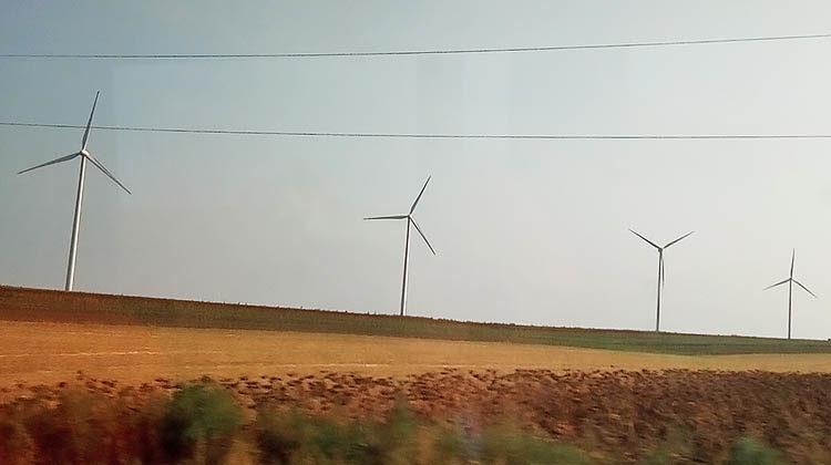 фото ветрогенераторы в Швеции