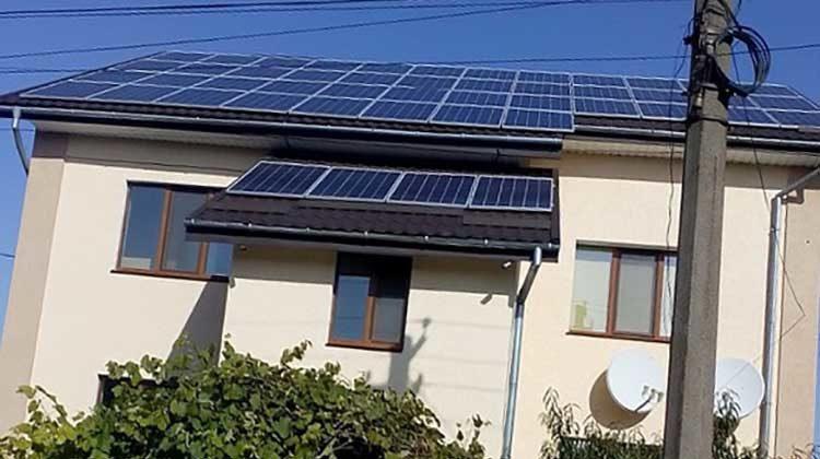 фото солнечная электростанция на Житомерщине