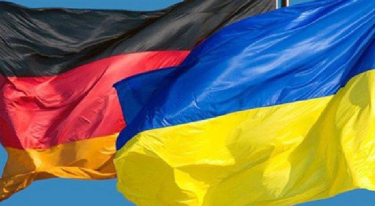 фото флаги Украины и Германии