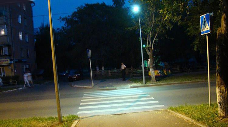 фото сенсорное освещение переходов