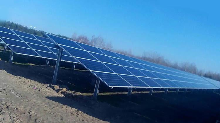 фото первая солнечная электростанция на экоферме