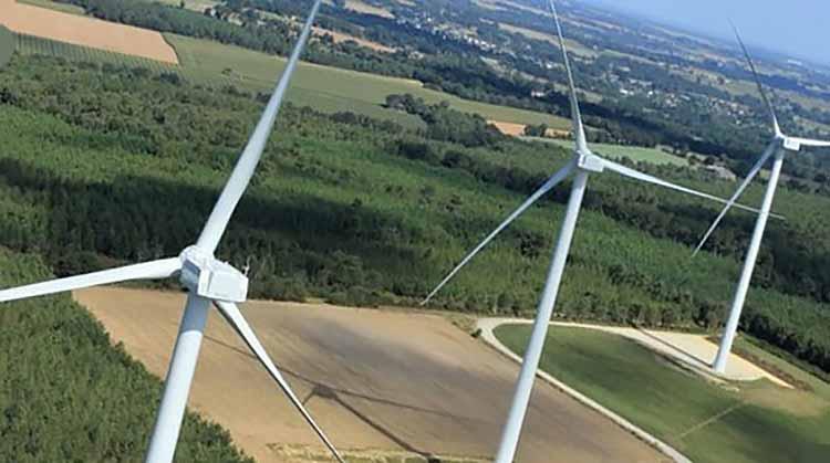 фото электромонтаж ветряков во Львовской области