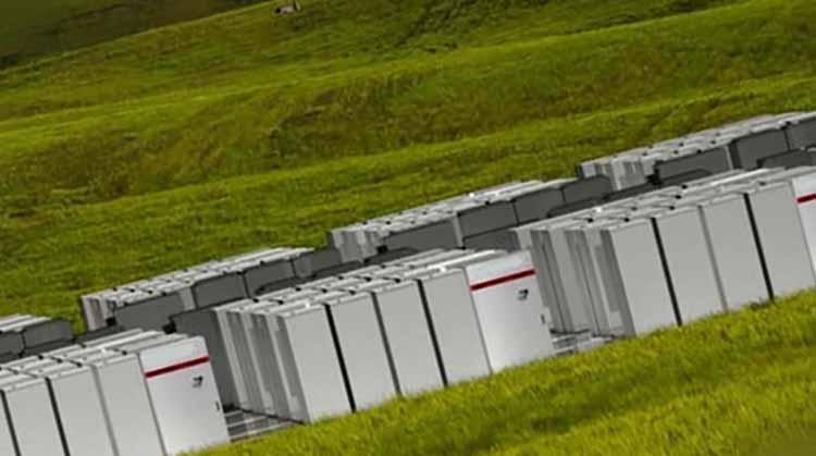 фото поле накопителей энергии