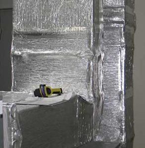 тепловизор и вентиляционный канал