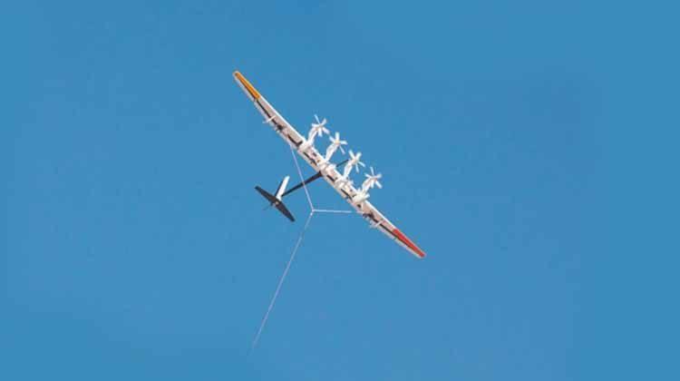 фото парящий ветрогенератор