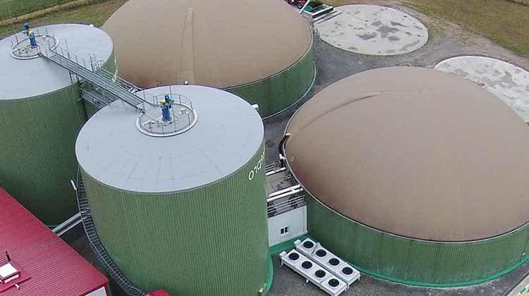 фото поставка электроэнергии от биогаза
