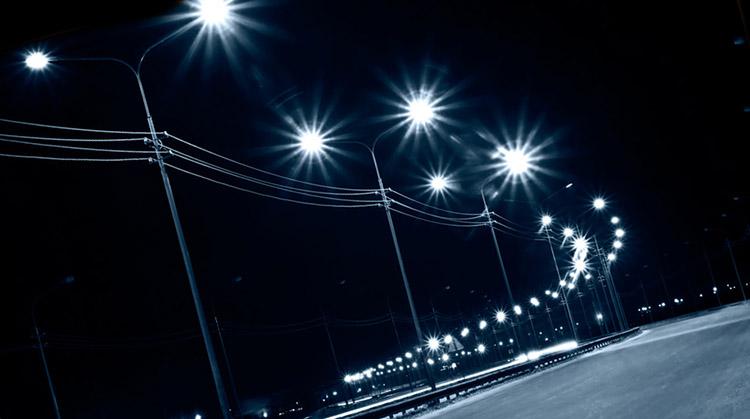 фото освещение улиц в нью-йорке