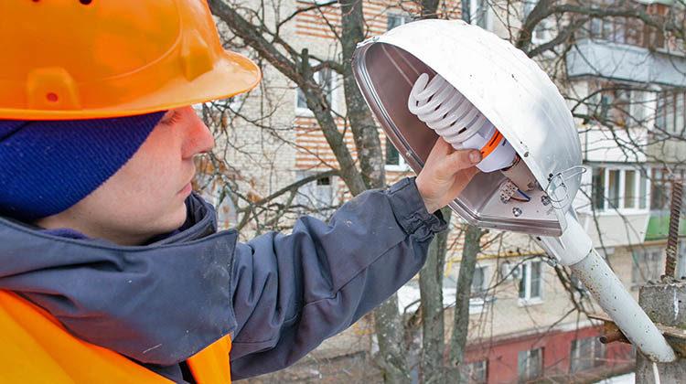 фото замена уличных ламп
