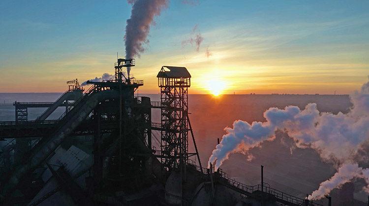 фото выброс парниковых газов