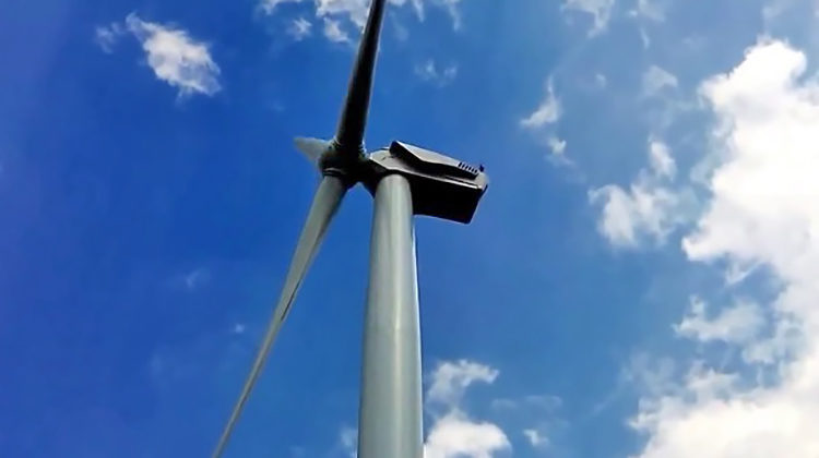 фото электромонтаж генератора ветротурбины