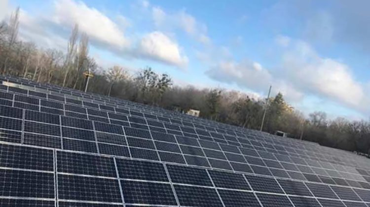 фото солнечная станция в Чернобыле