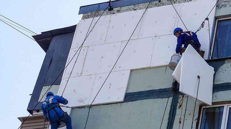 фото утепление многоэтажек в Мелитополе