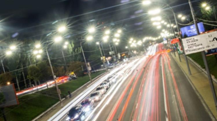фото современное уличное освещение