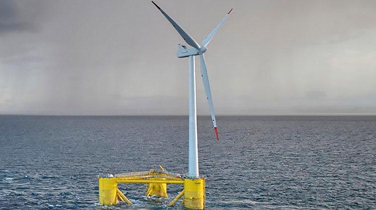 фото морские ветряки