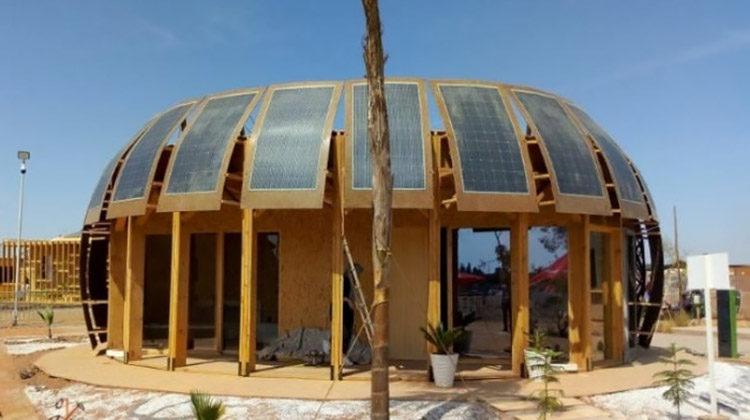 фото энергоэффективный дом в Марокко