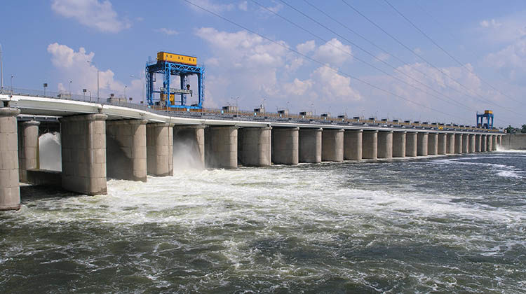 фото ГЭС в Украине