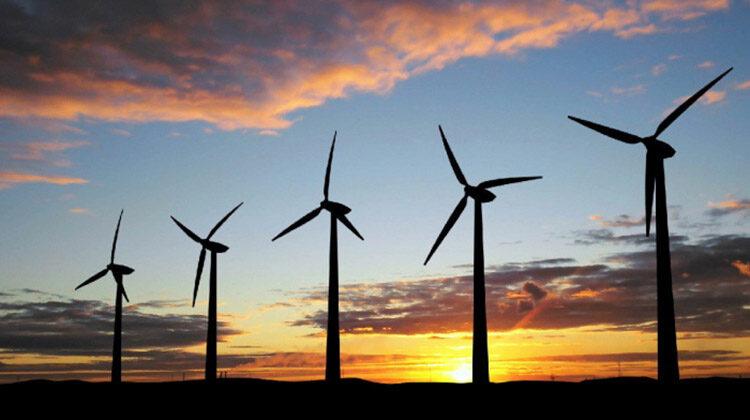 фото новый ветропарк на Днепропетровщине