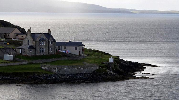 фото ветропарк на Шетландских островах