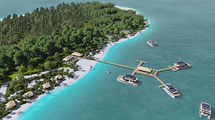фото автономный островной курорт