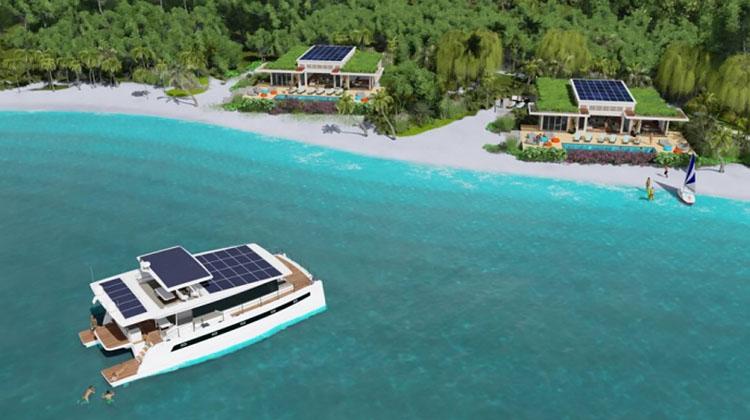 фото енергоефективний острівний курорт