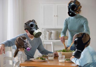 Загрязнение воздуха в помещении