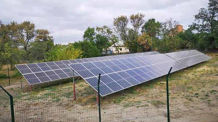фото солнечные панели в школе на Полтавщине