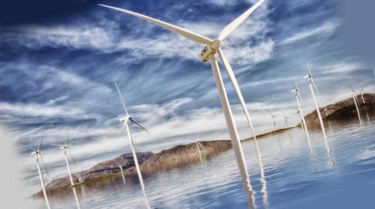 фото энергоостров в Дании
