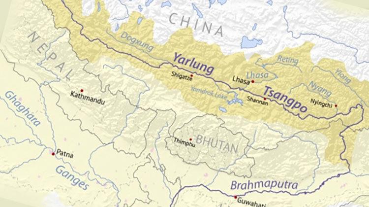 фото каскад ГЭС в Китае