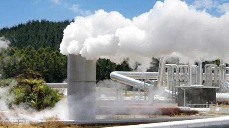 фото геотермальная станция