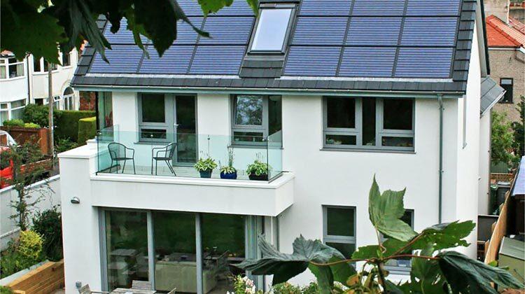 фото энергоэффективный дом в Англии