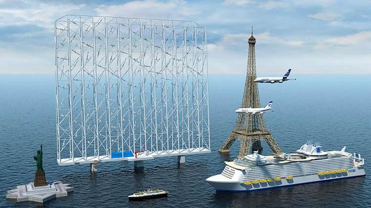 фото ветроэнеретические установки нового типа