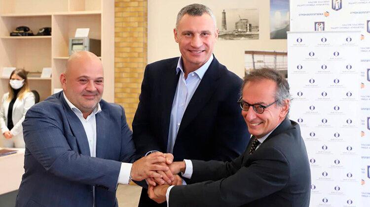 фото подписание соглашения киева с ЕБРР